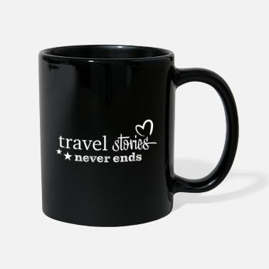 travelstories weiss - Tasse