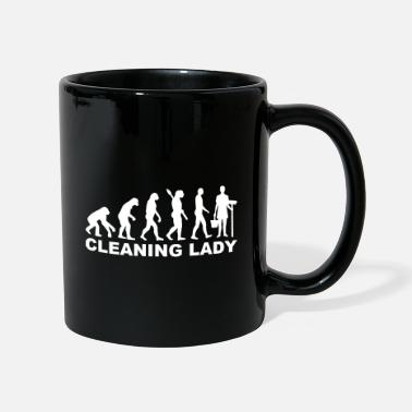 Clean What It Is cleaning woman - Mug