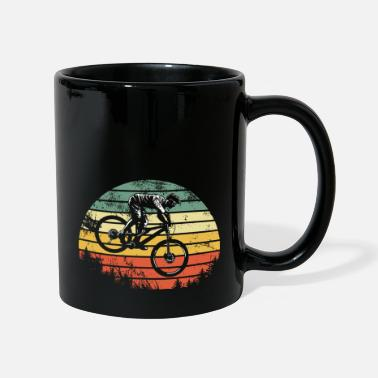 Mountain bike downhill heat MTB rider gift - Mug