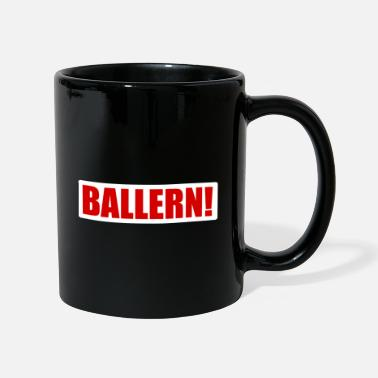 Logo Disparar! - Raver techno - Taza de un color