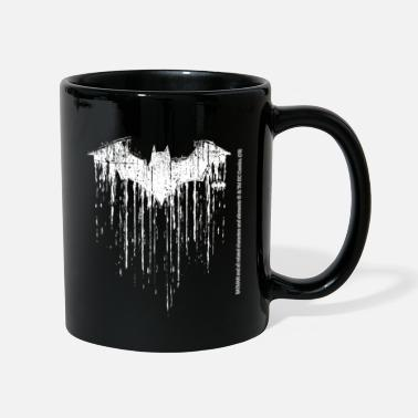 Batman Logo White Milk Glass Mug - Mugg