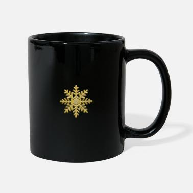 Poinsettia Poinsettia in gold - Mug