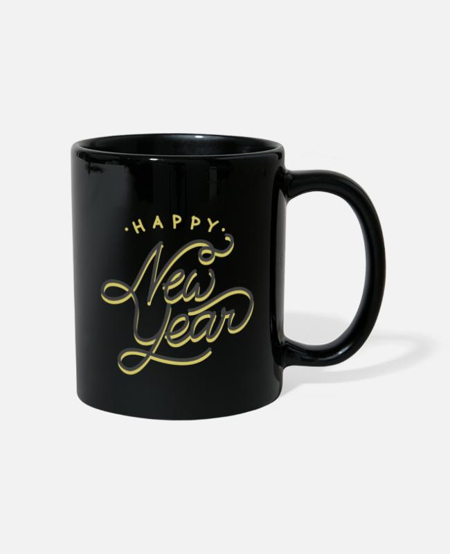 Happy New Year Mugs & Drinkware - New Year 2020 - Mug black