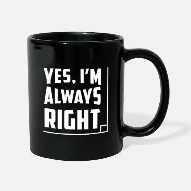 Im MATH: I'm always right - Mug