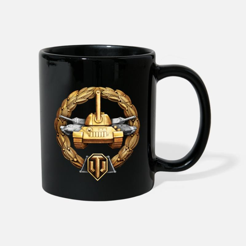World Of Tanks Mugs & Drinkware - World of Tanks Medals - Osnovnoi Mug - Mug black