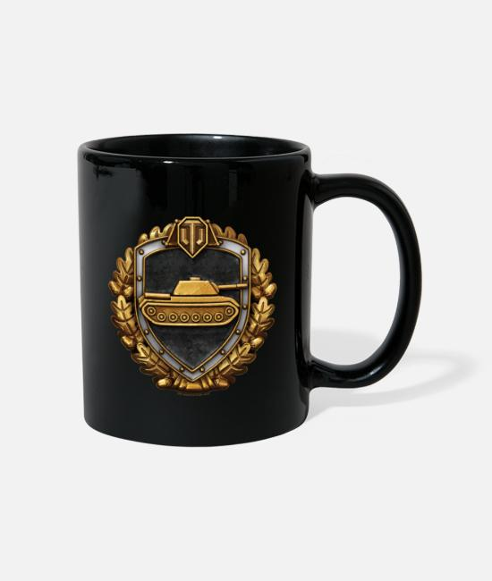 World Of Tanks Kubki i dodatki - World of Tanks Stalnaia Stena Medal mug - Kubek czarny