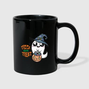 Or Cadeau de fantômes Halloween Trick or Treat - Mug uni