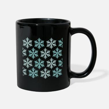 Snowflake snowflakes - Full Colour Mug