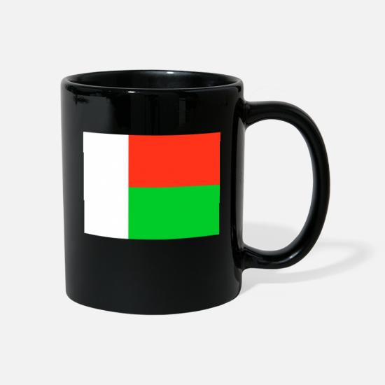 Stylish Mugs & Drinkware - Flag of Madagascar (mg) - Mug black