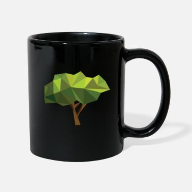 Bio Tree nature forest gift idea green plant motive - Full Colour Mug