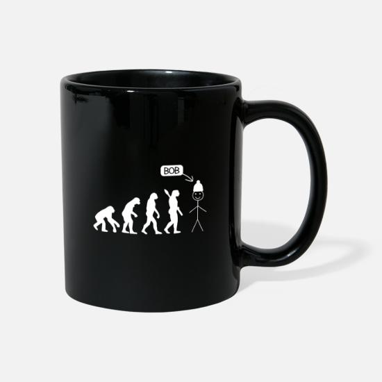 Image Mugs & Drinkware - This is Bob Evolution Shirt - Mug black