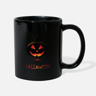 Ghost Pumpkin Happy Halloween - Mug
