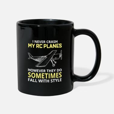 Vol RC Model Planes Avion Pilote Drôle cadeau - Mug