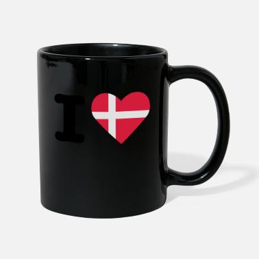 I Love Danemark - Mug