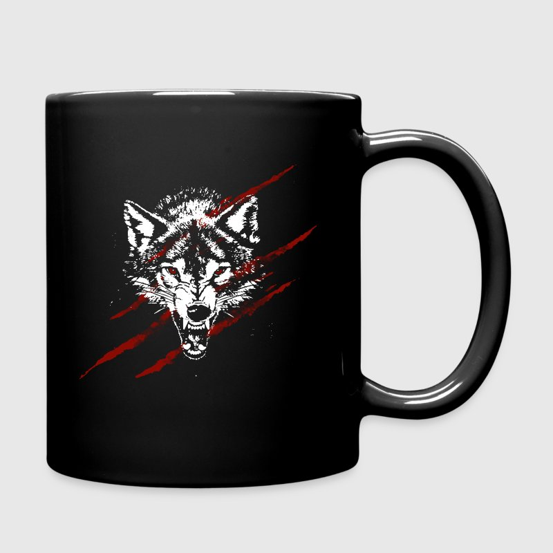 Angry wolf - Full Colour Mug