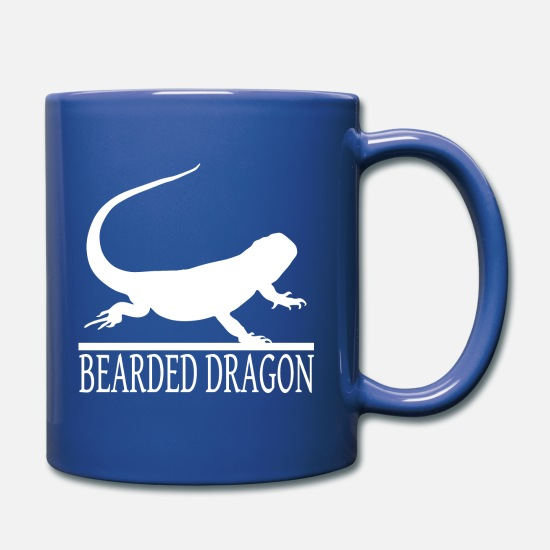 Gift Idea Mugs & Drinkware - Pogona bearded dragon - Mug royal blue