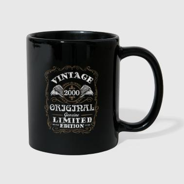 Vintage 2000 birthday design - Full Colour Mug