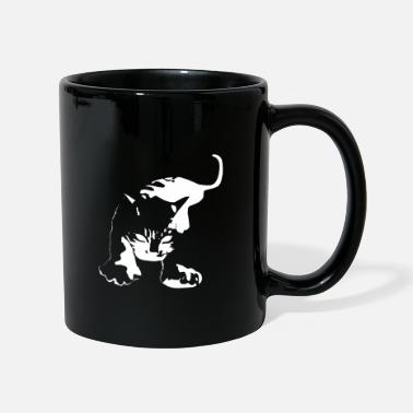 Aggressive Cat Aggressive Attacking - Mug