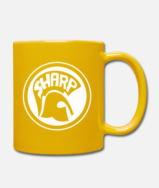 Antifa Mugs & Drinkware - SHARP - Mug sun yellow