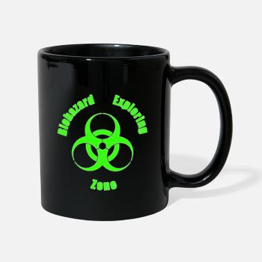 Urban Biohazard Exploring Zone T-Shirt - Design Patch - Tasse