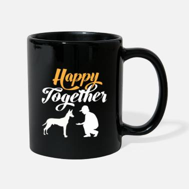 Happy Together - Pharaoh Dog & Dog Owner - Mug
