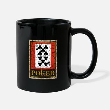 Carreaux JEU DE CARTES À JOUER TEN OF CLUBS POKER - Mug