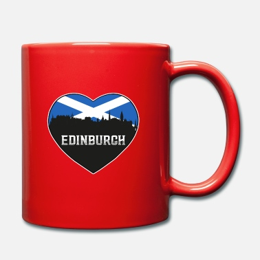 Cute Country T Edinburgh Schottland Skyline Souvenir schottische Flagge - Tasse