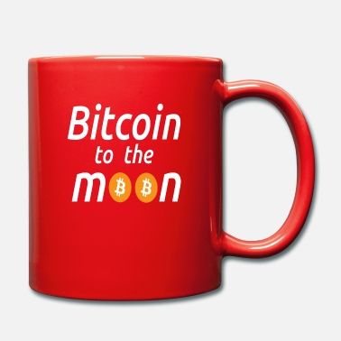 Btc Bitcoin to the moon design for gifts - Mug