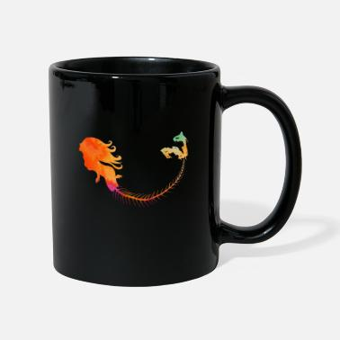 Mermaid Orange - Tasse