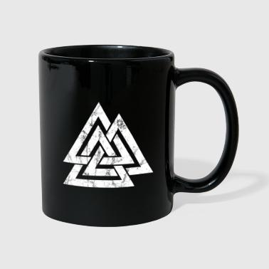 Celtic Knot Valknut Viking's Odin Sign Wotan's Knot - Full Colour Mug