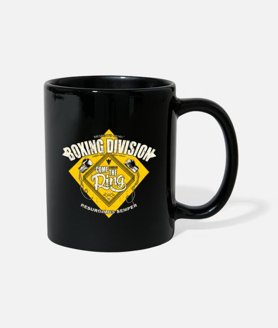 Boxing Gloves Mugs & Drinkware - BOXING DIVISION - Mug black