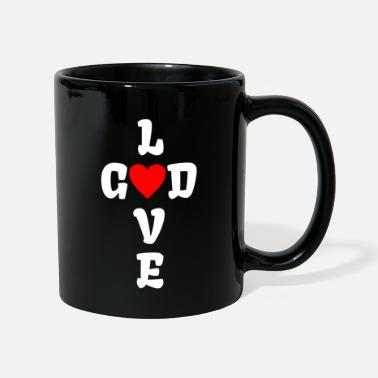 The Son Of God GOD LOVE | Faith God Pastoral priest pastor w - Mug