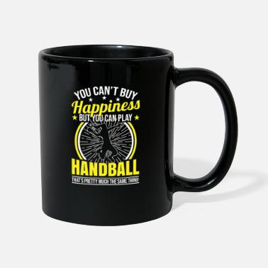 Handball Player Handball handball player female handball player - Mug