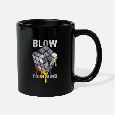 Rubik's Cube Blow Your Mind - Taza de un color