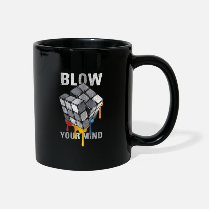 Officialbrands Mugs & Drinkware - Rubik's Cube Blow Your Mind - Mug black