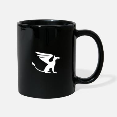 Bewinged Dog wings - Mug