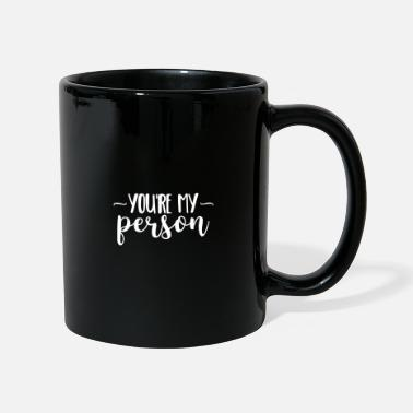 Person Youre My Person Gift Love Heart Valentines Day - Mug