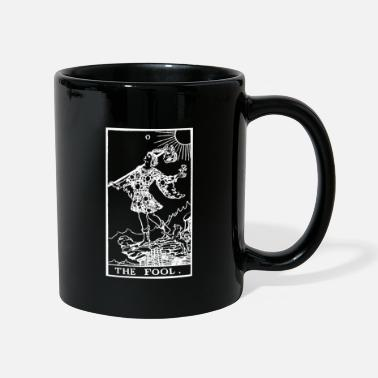 Tarot Tarot Card The Fool (White) - Mug