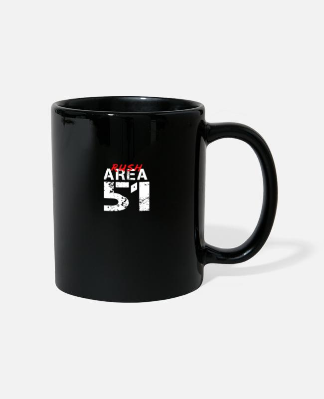Secret Mugs & Drinkware - Alien Storm area carries out raids. - Mug black