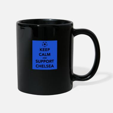 Calm Keep Calm and Support Chelsea - Mug