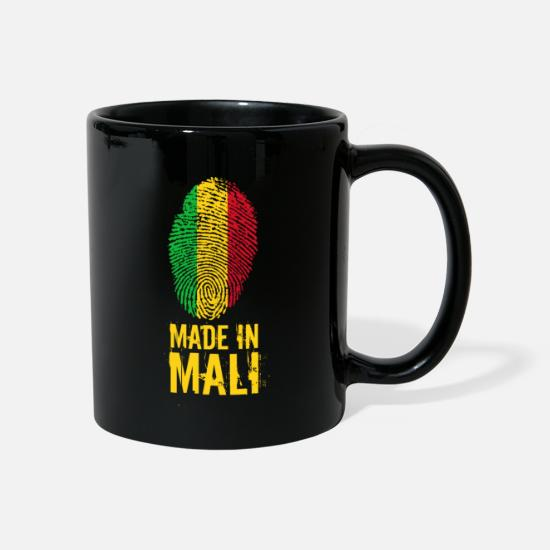 French Mugs & Drinkware - Made In Mali - Mug black