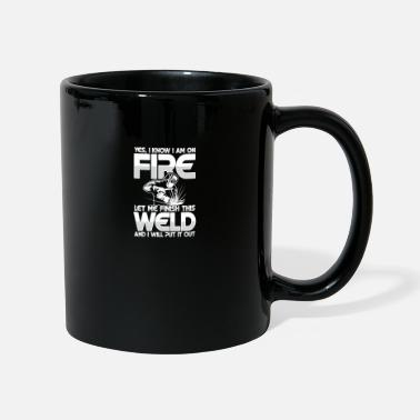Oxyacetylene Welding Let me finish this weld - Mug