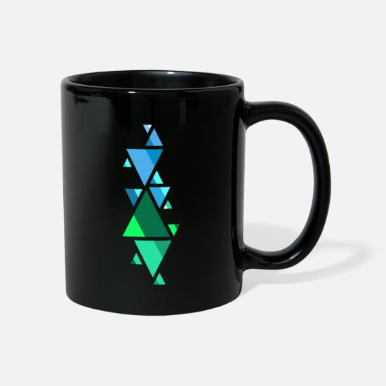 Shape Mugs & Drinkware - Shaped fonts - Mug black