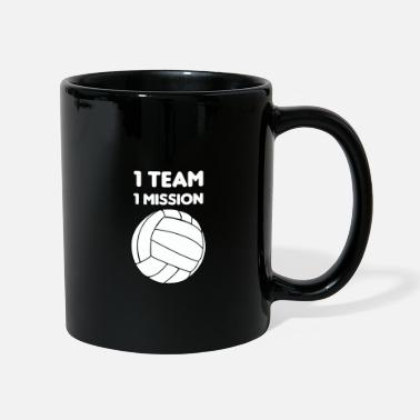Scène volley-ball - Mug uni