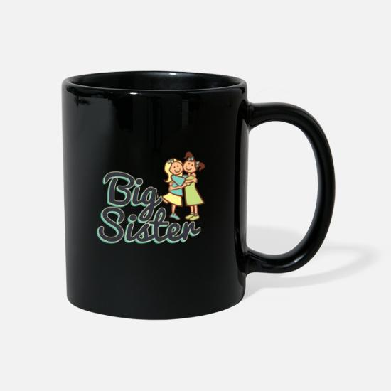 Love Mugs & Drinkware - BIG SISTER, BIG SISTER, White - Mug black