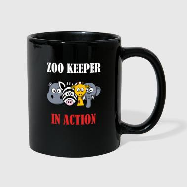 Action Zoo Keeper in Action (dierenverzorger) - Mok uni