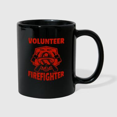 Volunteer Firefighter Firefighter Firefighter - Full Colour Mug