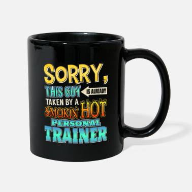 Personal Trainer This Guy Is Taken By A Personal Trainer - Full Colour Mug