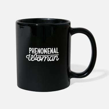 Powerslogan Phenomenal woman power woman saying - Mug