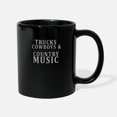 Countrymusic truck cowboys and countrs music t shirt - Mug